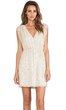 Nelson Embellished V Neck Dress