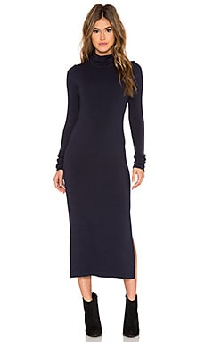 Alice + Olivia Dev Turtleneck Dress in Sapphire