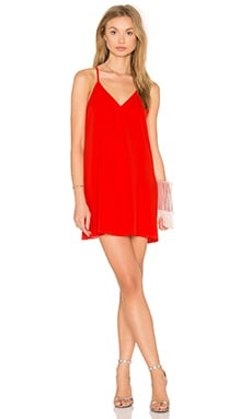 Alice + Olivia Fierra Dress in Light Poppy