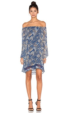 Cari Dress in Mosaic Paisley