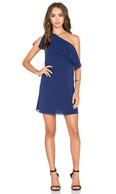 Francie Mini Dress en Indigo