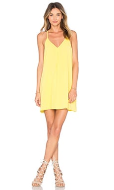 Yellow Y Back Dress by Alice + Olivia