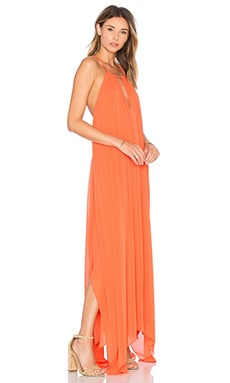 Jaelyn Dress in Tangerine