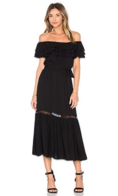 Alice + Olivia Lita Dress in Black