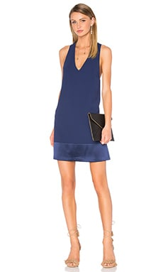 Daralee Trapeze Dress in Indigo