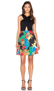 Ali Dress in Jungle Hibiscus