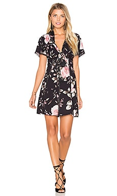 Alice + Olivia Alena Dress in Antique Rose