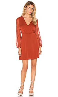 Alice + Olivia Cary Dress in Copper