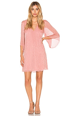 Alice + Olivia Tammin Dress in Dusty Rose