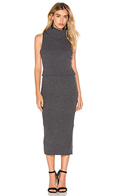Alice + Olivia Arra Dress in Charcoal