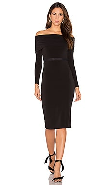 Alice + Olivia Lara Dress in Black