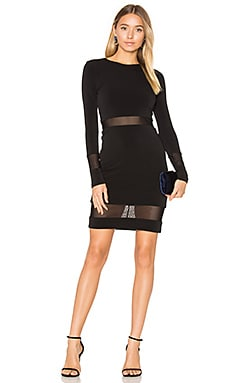 Madie Mini Dress en Noir