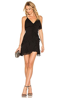 Lavinia Dress in Schwarz