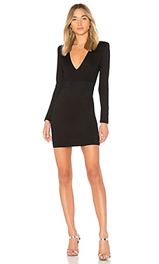 Simone Deep V Dress