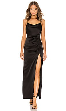 Diana Cowl Neck Gown Alice + Olivia $395