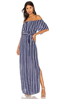 Grazi Off The Shoulder Maxi Dress Alice + Olivia $330 BEST SELLER