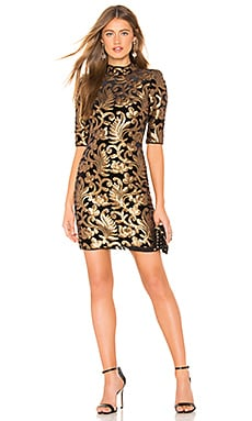 Inka Mock Neck Dress Alice + Olivia $395