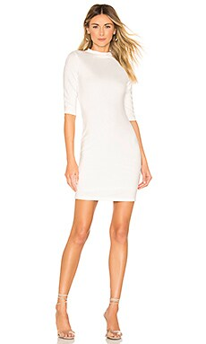 Delora Fitted Mock Neck Mini Dress Alice + Olivia $146