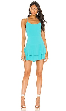 d1e347dbca7a Palmira Ruffle Tank Dress Alice + Olivia $275 NEW ARRIVAL ...