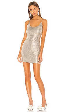 Nelle Fitted Mini Dress Alice + Olivia $275