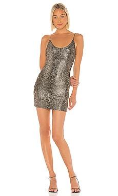 Delora Fitted Mini Dress Alice + Olivia $165