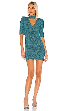 Inka V-Neck Dress Alice + Olivia $198