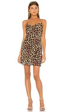 Harmony Drapey Slip Dress Alice + Olivia $285