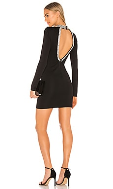 Inka Embellished Long Sleeve Dress Alice + Olivia $495 NEW ARRIVAL