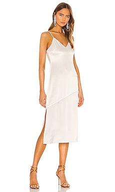 Kayla Seamed Slip Dress Alice + Olivia $330