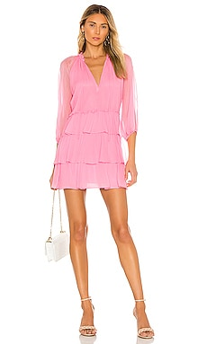 Layla Three Tier Ruffle Dress Alice + Olivia $485