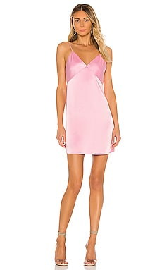 Melinda Seamed Slip Short Dress Alice + Olivia $295