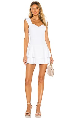 Brinda Fit Flare Dress Alice + Olivia $295
