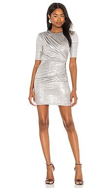 Delora Ruched Dress Alice + Olivia $264