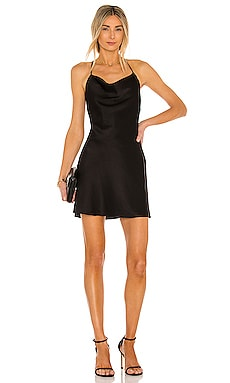 Dabney Draped Back Mini Dress Alice + Olivia $295 BEST SELLER