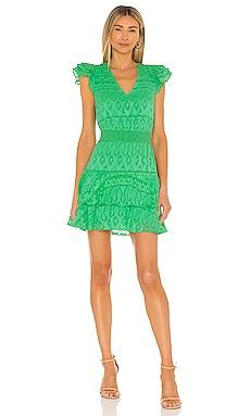 Markita Ruffle Tier Dress Alice + Olivia $395