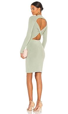 Estelle Twist Back Mini Dress Alice + Olivia $465