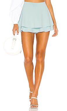 Mave Layered Skort Alice + Olivia $140