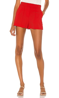 Dylan High Waist Tab Pintuck Short Alice + Olivia $195