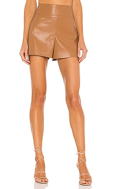 Donald Vegan Leather Short Alice + Olivia $195
