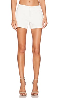 Alice + Olivia Cady Short in White