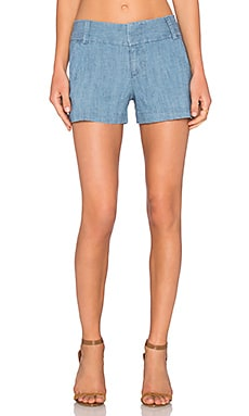 Alice + Olivia Cady Short in Chambray