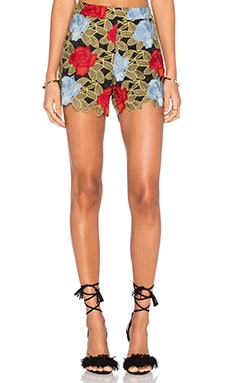 Alice + Olivia Amaris Short in Multi