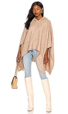 Zandra Hooded Pullover Poncho Alice + Olivia $395