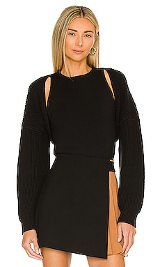 Marco Shrug with Tank Combo Pullover Alice + Olivia $375