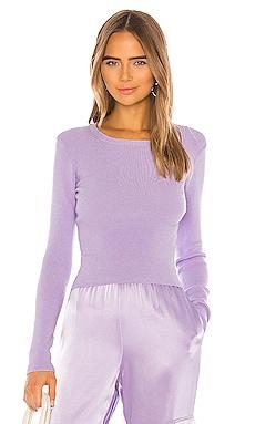 Ciara Long Sleeve Cropped Pullover Alice + Olivia $295