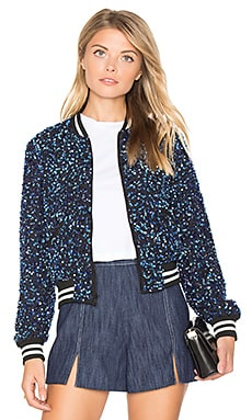 Lonnie Cropped Bomber Jacket