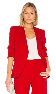 Купить Блейзер helena - Alice + Olivia красного цвета