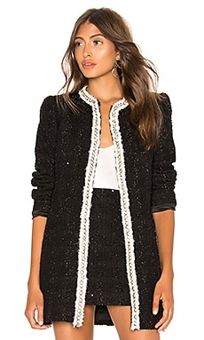 Andreas Midnight Jacket Alice + Olivia $895 BEST SELLER