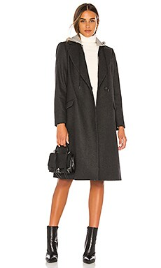 Bern Mid Length Blazer Coat Alice + Olivia $695