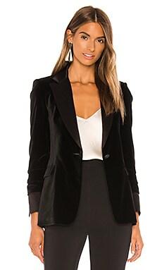 Macey Pleated Sleeve Fitted Blazer Alice + Olivia $550